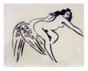 Leda and the Swan #7 Limited Edition Print by Reuben Nakian