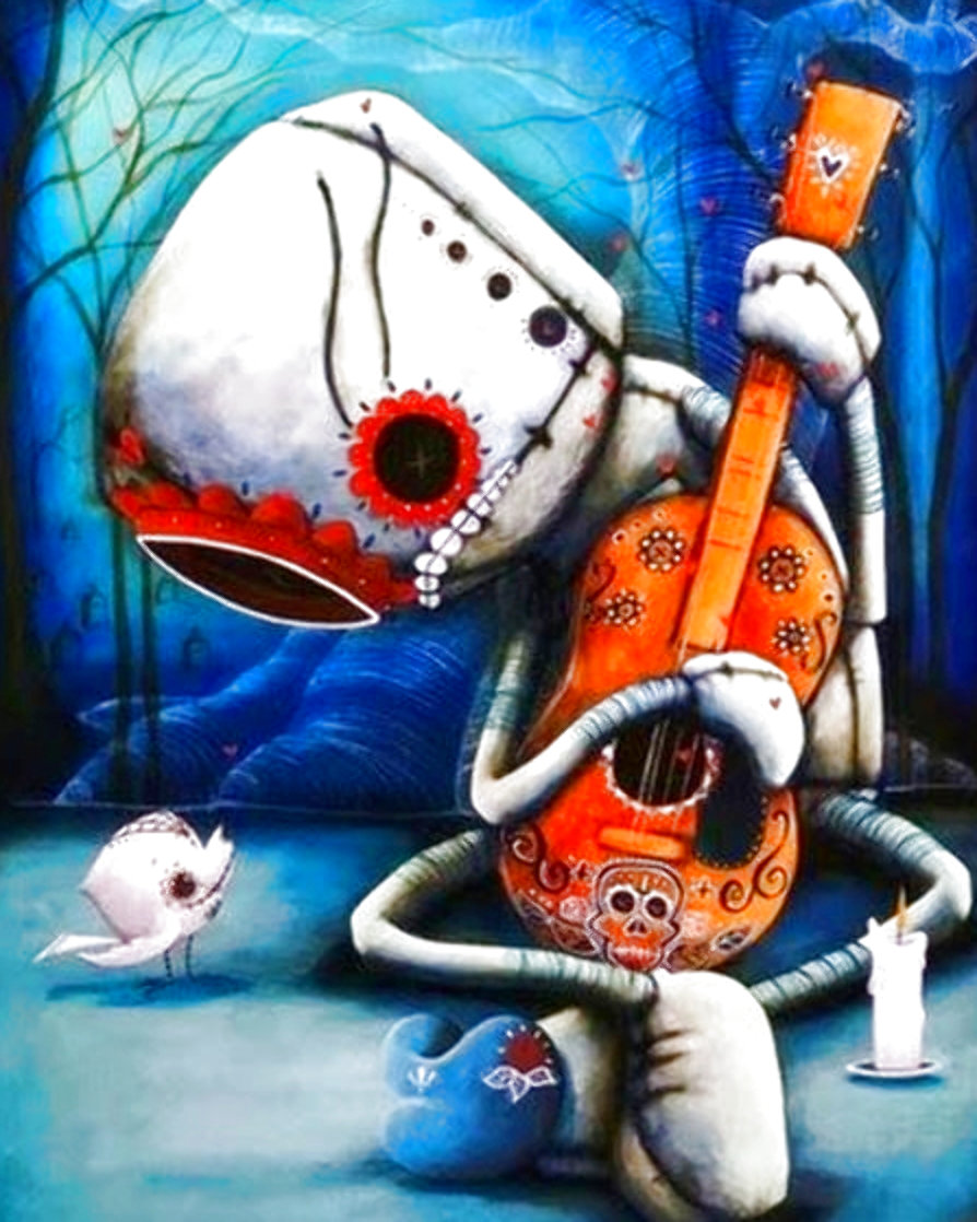 Day of the Dead AP Limited Edition Print by Fabio Napoleoni