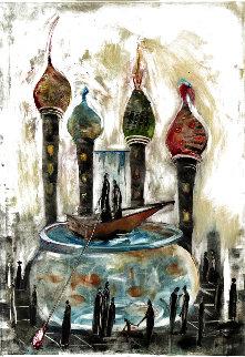 Arrival in a New City  AP Limited Edition Print - Natasha Turovsky