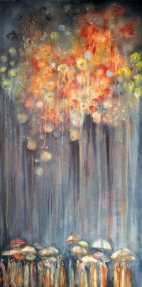 Fireworks AP Limited Edition Print by Natasha Turovsky