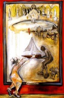 Tuilleries Garden AP 2003 Limited Edition Print - Natasha Turovsky