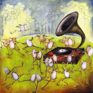 Ballet of the Unhatched Chicks AP Limited Edition Print by Natasha Turovsky