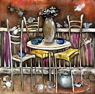Five-O-Clock Tea AP 2000 Limited Edition Print by Natasha Turovsky - 0