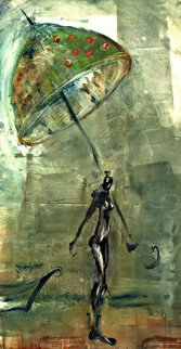 Green Umbrella AP 2003 Limited Edition Print by Natasha Turovsky