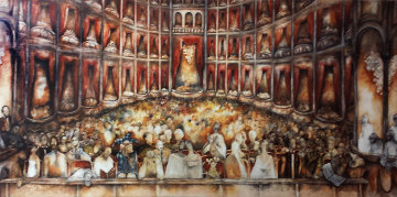 A Night At the Opera 2010 48x110 Limited Edition Print by Natasha Turovsky