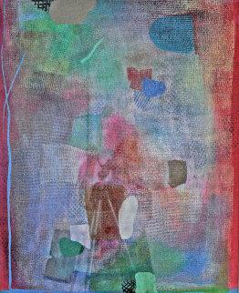 Red - Bern Series 1983 49x42 Works on Paper (not prints) - Robert Natkin