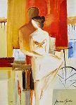 Lovers on Promenade Limited Edition Print - Adriana Naveh