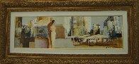 White City 23x48 Huge Original Painting by Adriana Naveh - 1