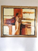 Best Friends 2006 43x51 Super Huge Original Painting by Adriana Naveh - 2