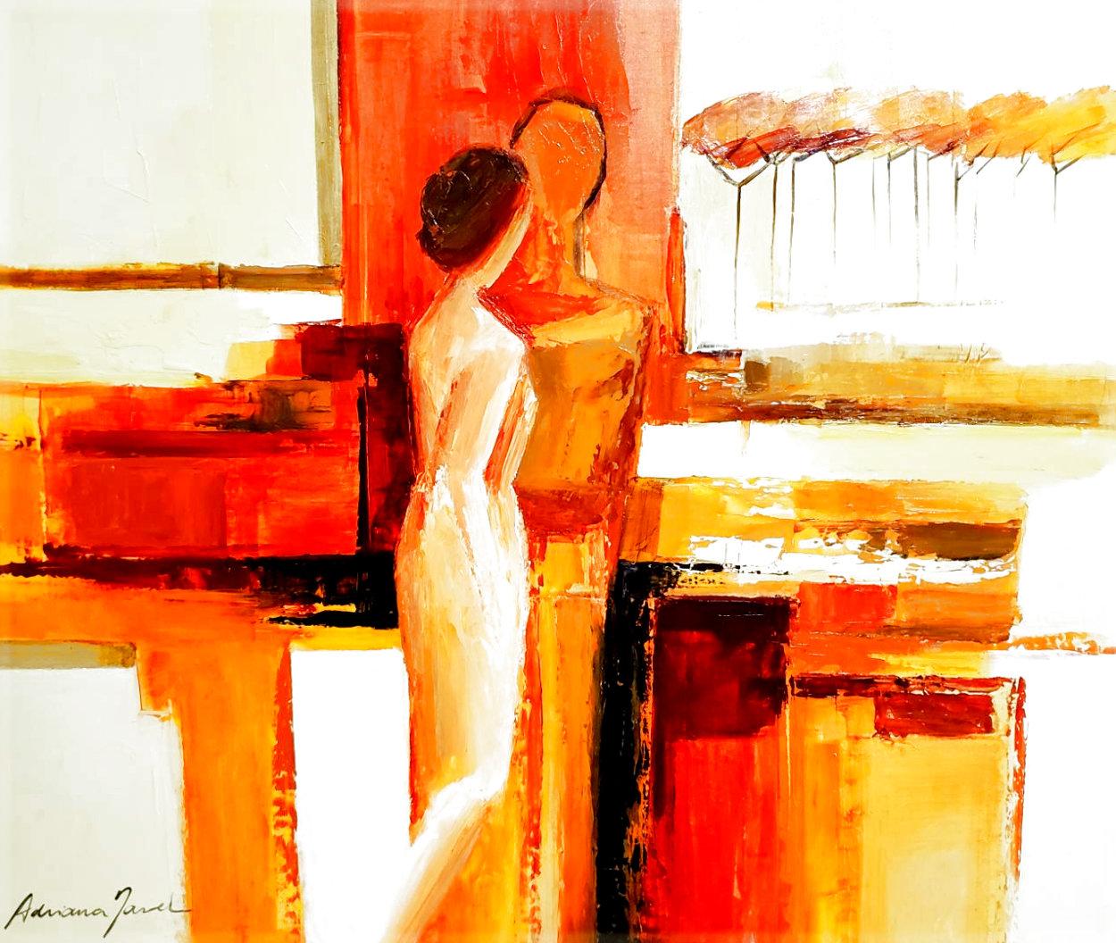Best Friends 2006 43x51 Super Huge Original Painting by Adriana Naveh