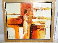 Best Friends 2006 43x51 Super Huge Original Painting by Adriana Naveh - 1