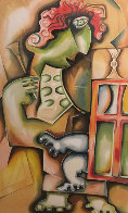 Ladder of Giving Suite of 3 2002 Limited Edition Print by Alexandra Nechita - 2