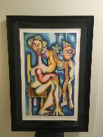 Ladder of Giving Suite of 3 2002 Limited Edition Print by Alexandra Nechita - 5