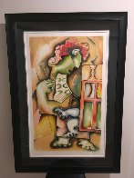 Ladder of Giving Suite of 3 2002 Limited Edition Print by Alexandra Nechita - 6