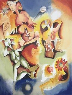 Angel Dance 1997 Limited Edition Print by Alexandra Nechita