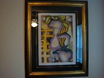 Narcissus and Echo 2003 Limited Edition Print - Alexandra Nechita