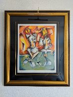 Angels Glow in the Dark PP 1999 Limited Edition Print by Alexandra Nechita - 1