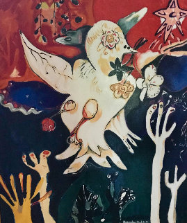 Release the Peace 1996 42x35 Huge  Limited Edition Print - Alexandra Nechita