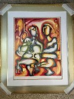Soul Mates Forever 2001 Limited Edition Print by Alexandra Nechita - 1
