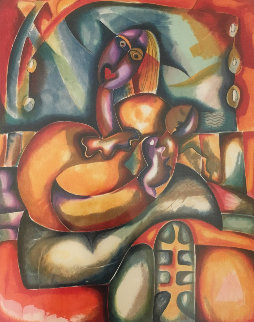 Eternal Embrace 2001 Limited Edition Print - Alexandra Nechita