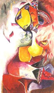 Artist's Universe 1997 Limited Edition Print by Alexandra Nechita