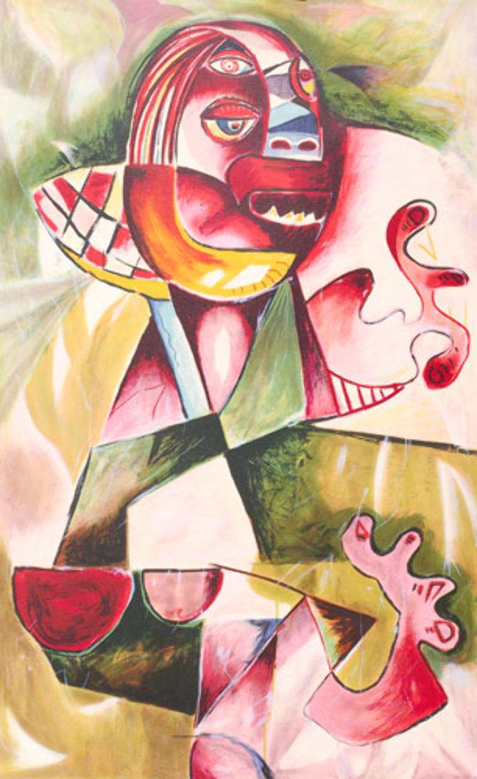 Forgotten Values AP 1997 Limited Edition Print by Alexandra Nechita