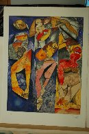 Winning Together 1998 Limited Edition Print by Alexandra Nechita - 1