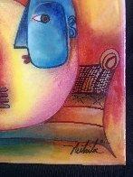 Unspoiled Now 2012 20x22 Original Painting by Alexandra Nechita - 5