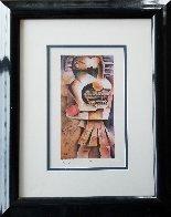 Orange Apple 1999 Limited Edition Print by Alexandra Nechita - 1