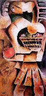 Orange Apple 1999 Limited Edition Print by Alexandra Nechita - 0