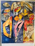 Winning Together 1998 Limited Edition Print by Alexandra Nechita - 2