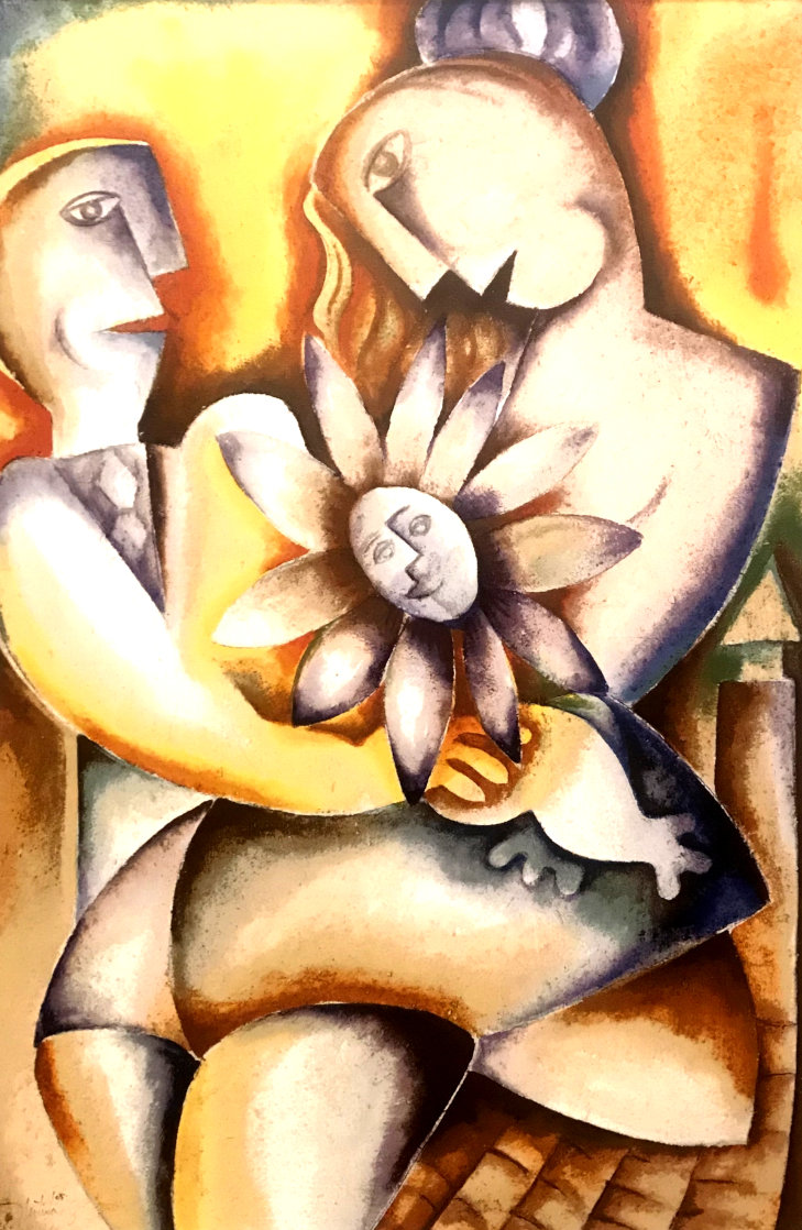 Fragrance of a Happy Home 2005 Limited Edition Print by Alexandra Nechita