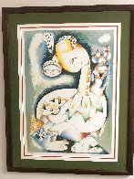 My Torch Shall Guide Me 1996 Limited Edition Print by Alexandra Nechita - 1