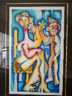 Ladder of Giving 2002 Limited Edition Print by Alexandra Nechita - 2