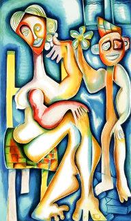 Ladder of Giving 2002 Limited Edition Print - Alexandra Nechita
