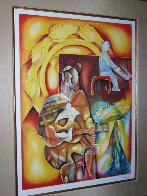 Peace Is Not An Option 2004 Limited Edition Print by Alexandra Nechita - 3