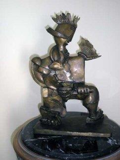 Victorious Spirit  Bronze  Sculpture 2004 Sculpture by Alexandra Nechita