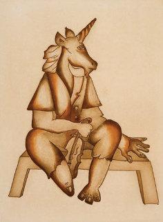 Unicorn 2008 Limited Edition Print by Alexandra Nechita