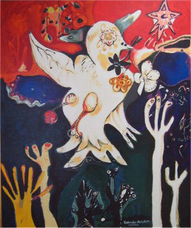 Release the Peace 1996 Limited Edition Print by Alexandra Nechita
