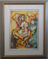 Love That Sails Forever 2001 Limited Edition Print by Alexandra Nechita - 1