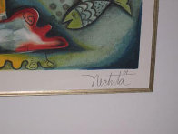 Love That Sails Forever 2001 Limited Edition Print by Alexandra Nechita - 2