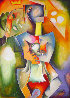 Crown of Peace AP Overpaint 2004 Limited Edition Print by Alexandra Nechita - 0