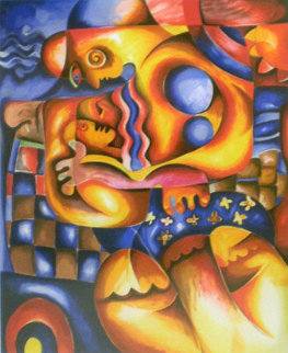 Mama's Lullaby AP Limited Edition Print - Alexandra Nechita