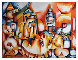 Skyline AP 1997 Limited Edition Print by Alexandra Nechita - 0