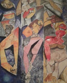 Winning Together 1998 Limited Edition Print by Alexandra Nechita