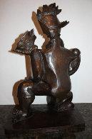 Victorious Spirit Bronze Sculpture 2004 18 in Sculpture by Alexandra Nechita - 0