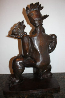 Victorious Spirit Bronze Sculpture 2004 18 in Sculpture - Alexandra Nechita