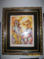 Confronting Your Fantasies 2003 Limited Edition Print by Alexandra Nechita - 2
