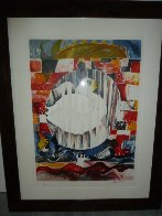 Earth is a Planet With One Peace Missing 1997 Limited Edition Print by Alexandra Nechita - 1