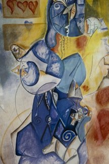 Blueberry Man AP 1997 Limited Edition Print by Alexandra Nechita